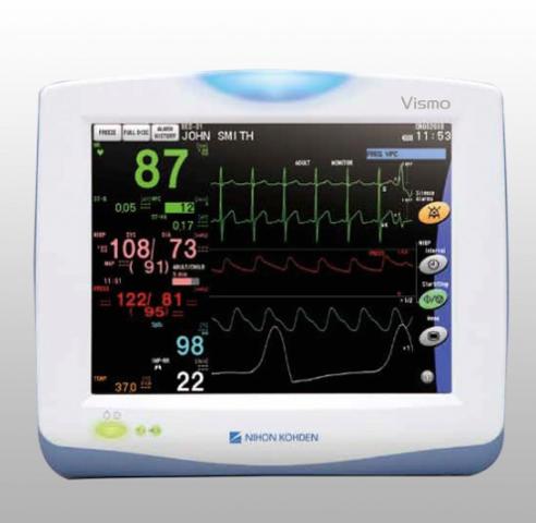 Monitoring multiparametrique VISMO (surveillance anesthesique)